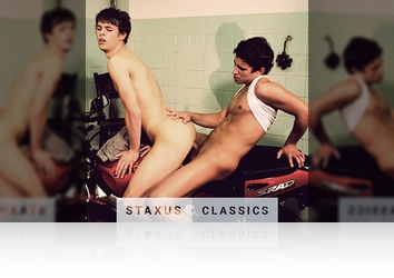 Tuesday, February 14th: Staxus Classic: Bareback Street Gang - Scene 1 - Remastered in HD