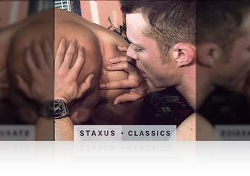Saturday, October 8th: Staxus Classic: Frat Boy Fuckfest Scene 5 - Remastered in HD