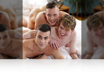 Monday, March 16th: Fantasy Threesome (Twink Hotel - Scene #2) HD