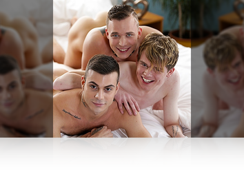 Monday, Mar 16th: Fantasy Threesome (Twink Hotel - Scene #2) HD from Staxus