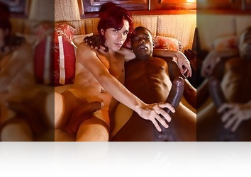Friday, November 7th: Fake Red-Head? Maybe. A Total Slut For Big Black Cock? It's An Absolute Fuckin' Given! HD