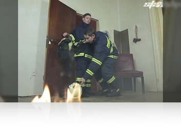 Wednesday, January 23rd: Hot, Horny Firemen Douse Their Fire With a Raw Flip-Flop Fuck
