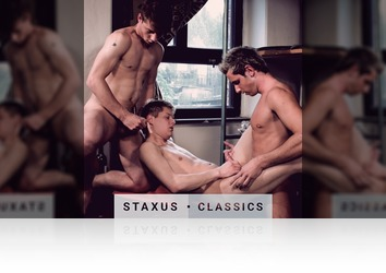 Tuesday, February 21st: Staxus Classic: Bareback Street Gang - Scene 2 - Remastered in HD