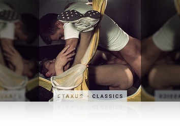Saturday, February 25th: Staxus Classic: Bareback Road Trip - Scene 3 - Remastered in HD