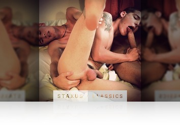 Tuesday, July 28th: Staxus Classic: Bare Reunion - Scene 5 - Remastered in HD