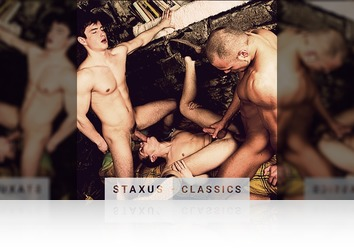 Saturday, September 3rd: Staxus Classic: Bareback Cock Riders - Scene 4 - Remastered in HD
