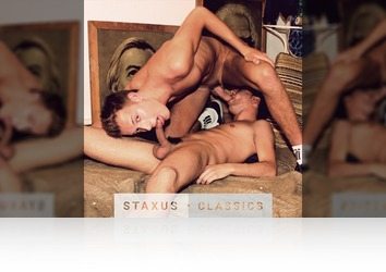 Tuesday, March 7th: Staxus Classic: Bareback Street Gang - Scene 5 - Remastered in HD