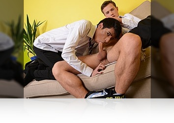Tuesday, June 10th: Billy Rubens Gives His Study Buddy Something To Remember �' 8 Inches Of Hard Cock Up His Ass!