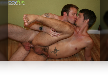 Saturday, Dec 6th:  Horny buds suck loads of cock, rim and fuck! from BoyFun