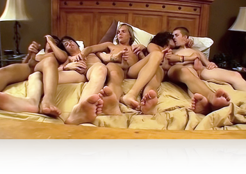Wednesday, Mar 29th: A Five-Boy Hardcore Twink Orgy from EuroBoyXXX