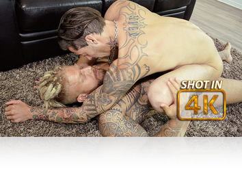 Wednesday, Mar 29th: COME: Two Inked-Up Cock Lovers from EuroBoyXXX