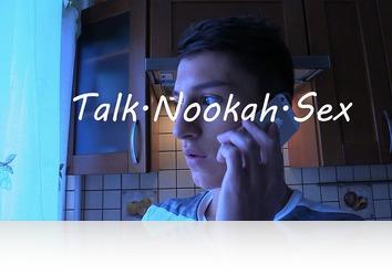 Thursday, November 9th: Talk. Nookah. Sex. Amico and Brandon