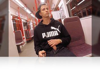 Saturday, November 5th: Part One - In the subway and handjob