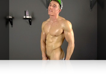 Saturday, January 13th: Casting -Muscle Flex - Jerking off