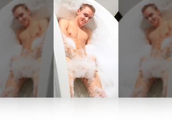 Friday, January 5th: Mason twink  bath shoot!