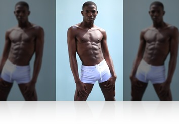 Friday, Oct 19th: Vergill beautiful black twink from MaleModel Holland