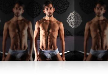 Friday, September 8th: Rafael athletic dancer posing nude