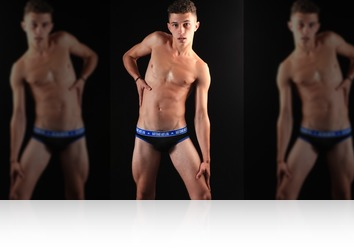 Friday, Dec 1st: Rafito first  nude shoot in Holland from MaleModel Holland