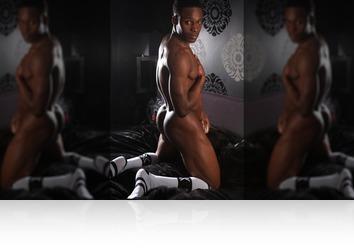 Friday, July 27th: Jay erotic bedroom shoot