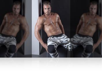 Friday, November 24th: Muscular dutch fitness model