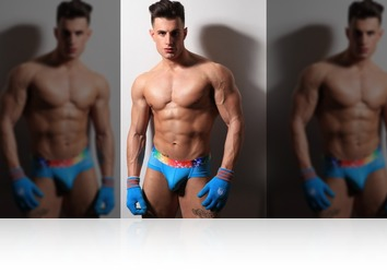 Friday, Jan 19th: Francesco big and muscular! from MaleModel Holland