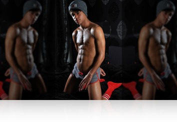 Friday, February 9th: Mat twink in sportswear