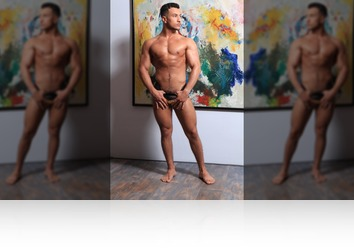 Friday, Sep 7th: Firnando fitness model from MaleModel Holland