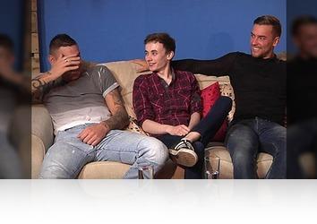 Monday, December 26th: UNTOUCHED Interview Harry, Tyler & Jessie