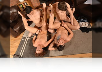 Thursday, May 11th: Language Lesson Becomes Gangbang Session (Part 2)
