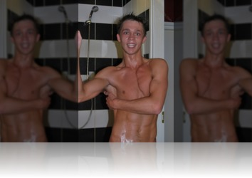 Sunday, July 22nd: Kolja in Shower