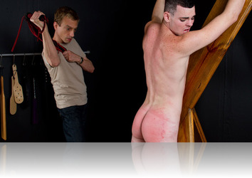 Tuesday, August 7th: SpankThis - Marco Spanked in Garage