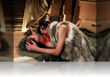 Thursday, February 10th: Hot Gay Vamp In A Wolf Coat Getting Slurped By A Twink Mortal