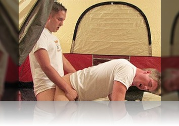 Thursday, February 10th: Camping Friends Turn Their Tent In To A Scorching Hot Fuck Nest