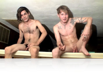 Monday, October 19th: Horny Boys Will Jack Off Anywhere!