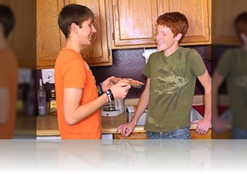Monday, May 9th: Horny Twinks Snacking On Each Others Massive Condom Free Boners