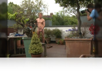 Wednesday, Aug 15th: Freddie Rogers - Bonus Video of Freddie Roger's Photo Shoot - Young Straight Blond Pup Shows us his Uncut Cock in a Blond Fuzz! from Englishlads