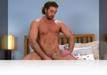 Friday, July 1st: Will Templeton - Straight Hunk Will Wanks His Chunky Uncut Cock and Shows off his Hot Hairy Hole!