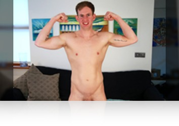 Thursday, November 2nd: Ryan Lewis - Bonus Video of Ryan Lewis's Photoset - Straight Personal Trainer Shows off his 8 Inch Cock!