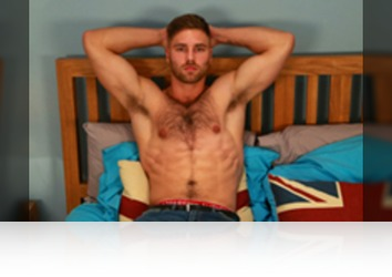 Friday, Jan 19th: Tom Lawson - Straight Hairy Hunk Tom Lawson gets his 1st Manhandling and Wow Cums, Cums & Cums Some More! from Englishlads