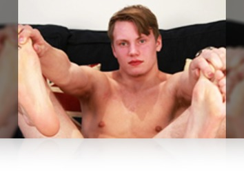 Thursday, Nov 16th: Andy Mason - Bonus Video of Andy Mason's Photo Shoot - Young Straight Footballer with a Thick Uncut Cock & Cums Buckets! from Englishlads