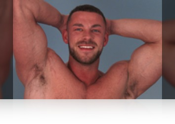 Monday, October 9th: Conall Timpson - Muscular Straight Man Conall Shows us his Big Uncut Cock & Fires Loads of Cum!