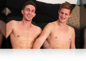 Sunday, March 12th: Jack Windsor, Sam Hansworth - Bonus Video of Photo Shoot - Straight Boxer Sam gets his First Man Blow Job & Also Enjoys Jerking off Jack!